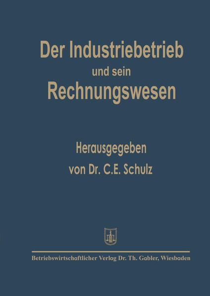 Der Industriebetrieb und sein Rechnungswesen - Coverbild
