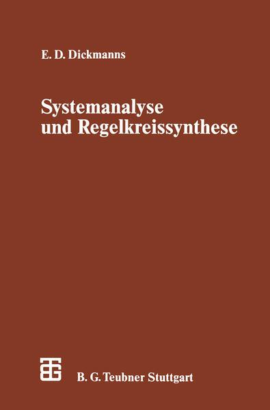 Systemanalyse und Regelkreissynthese - Coverbild