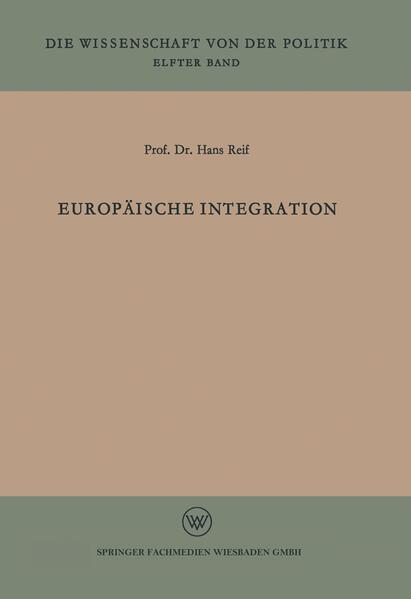 Europäische Integration - Coverbild