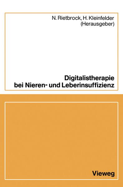 Digitalistherapie bei Nieren- und Leberinsuffizienz - Coverbild