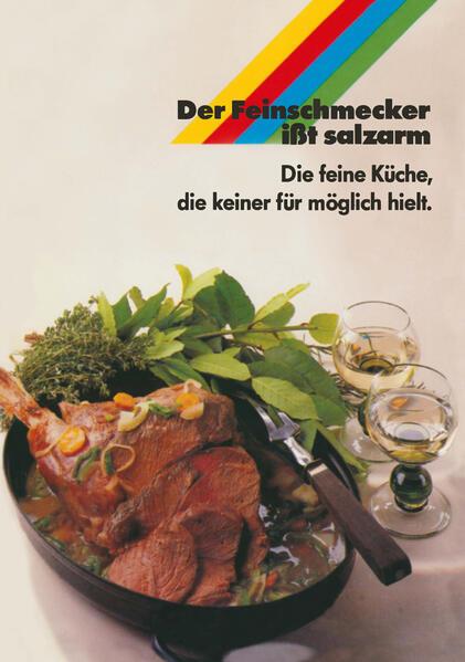 Der Feinschmecker ißt salzarm - Coverbild