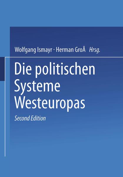 Die politischen Systeme Westeuropas - Coverbild