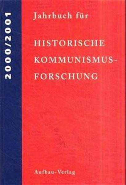Jahrbuch für Historische Kommunismusforschung 2000/2001 - Coverbild