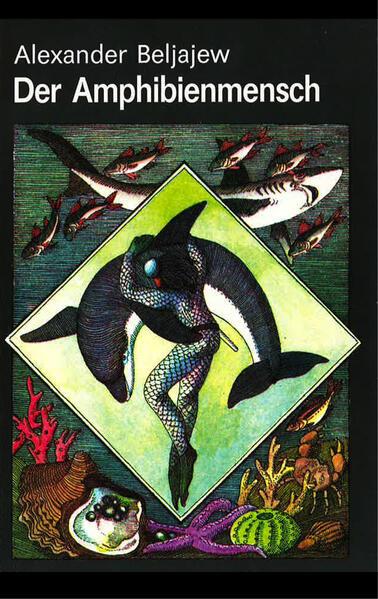 Der Amphibienmensch - Coverbild