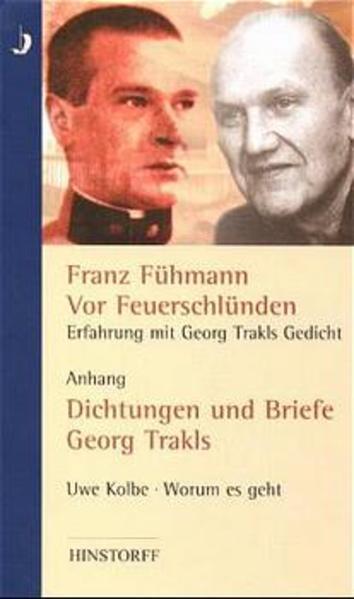 Vor Feuerschlünden - Erfahrung mit Georg Trakls Gedicht - Coverbild