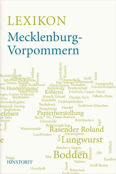 Lexikon Mecklenburg-Vorpommern - Coverbild