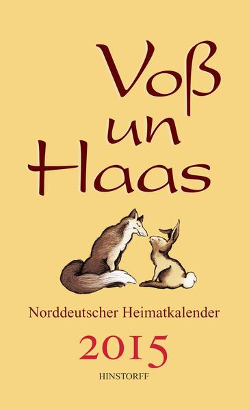 Voß un Haas 2015 - Coverbild