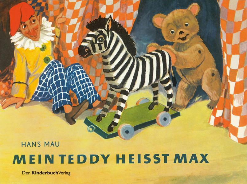 Mein Teddy heißt Max - Coverbild