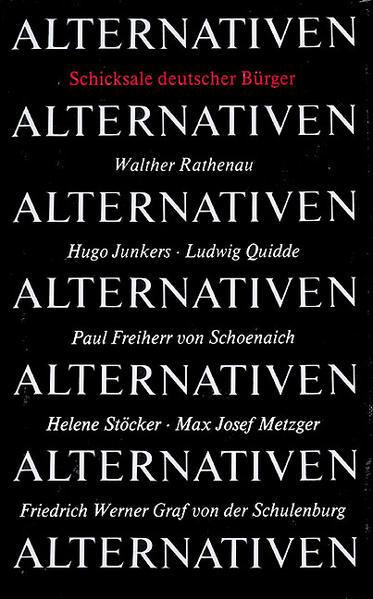 Alternativen - Coverbild