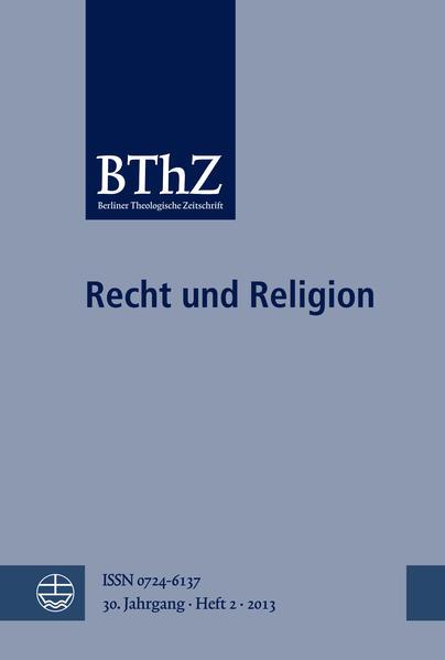 Recht und Religion - Coverbild
