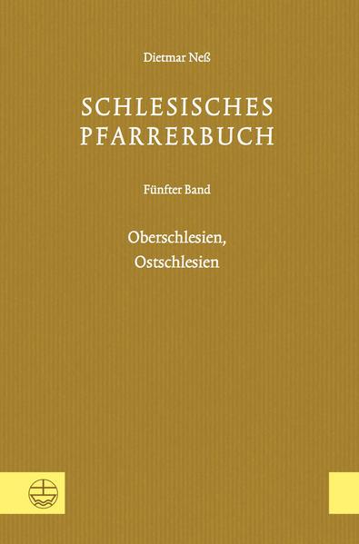 Schlesisches Pfarrerbuch - Coverbild