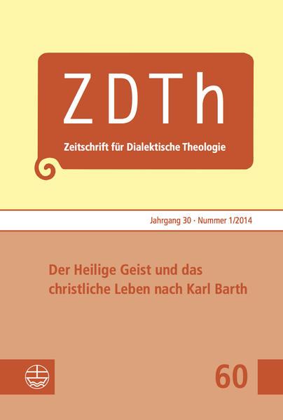 Der Heilige Geist und das christliche Leben nach Karl Barth - Coverbild