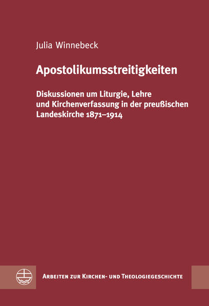 Apostolikumsstreitigkeiten - Coverbild
