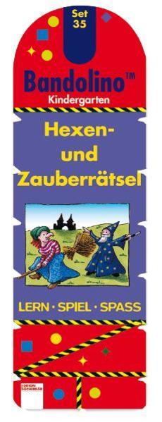 Hexen- und Zauberrätsel - Coverbild