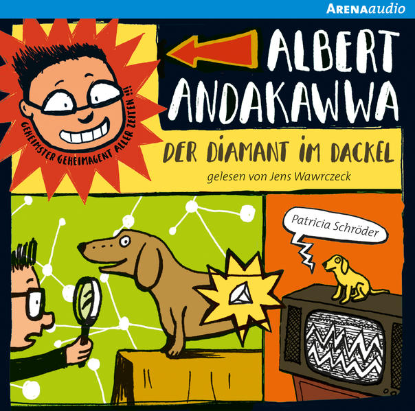 Albert Andakawwa (2). Der Diamant im Dackel - Coverbild
