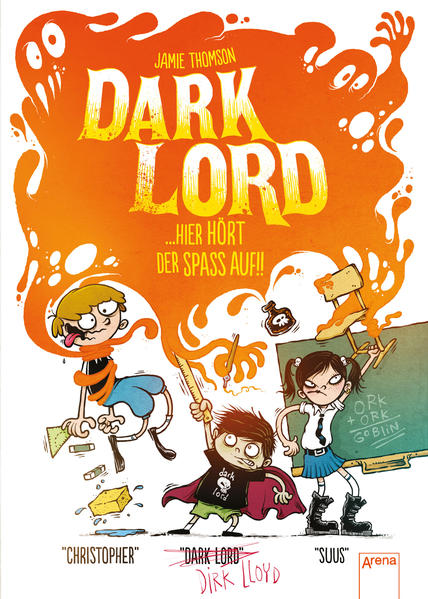 Dark Lord (4). Hier hört der Spaß auf!! - Coverbild