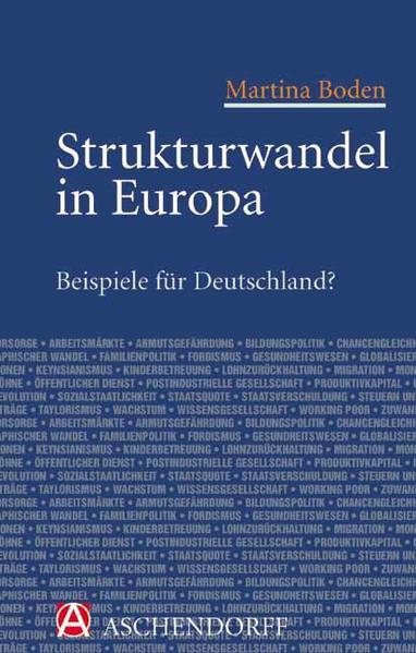 Strukturwandel in Europa - Beispiele für Deutschland? - Coverbild