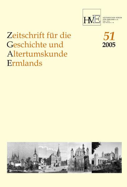 Zeitschrift für Geschichte und Altertumskunde des Ermlandes, Band 51-2005 - Coverbild