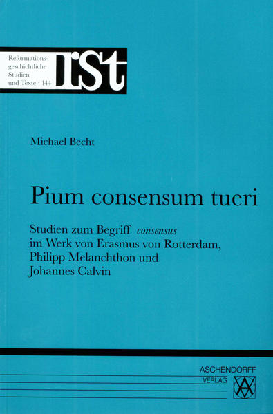 Pium consensum tueri - Coverbild