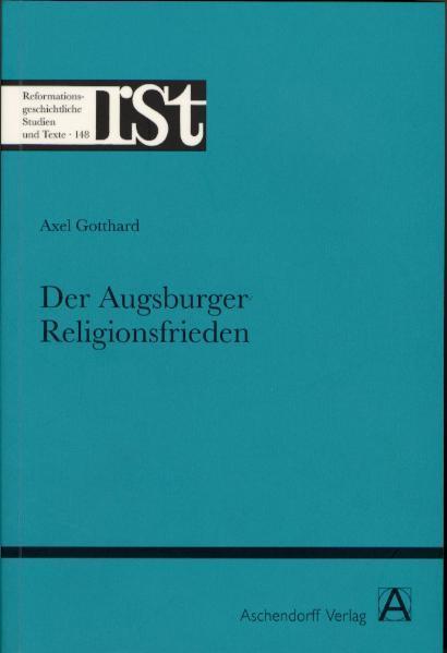 Der Augsburger Religionsfrieden - Coverbild