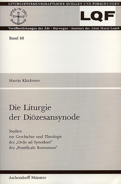 Die Liturgie der Diözesansynode - Coverbild