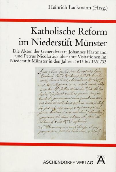 Katholische Reform im Niederstift Münster - Coverbild