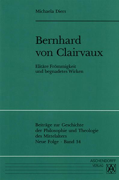 Bernhard von Clairvaux - Coverbild