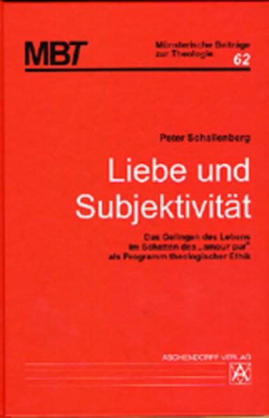 Liebe und Subjektivität - Coverbild