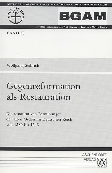 Gegenreformation als Restauration - Coverbild