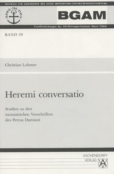 Heremi conversatio - Coverbild