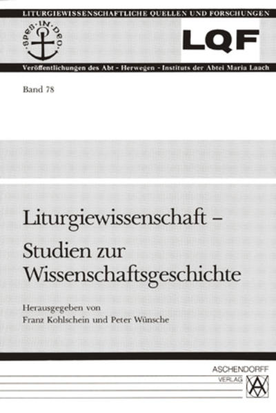 Liturgiewissenschaft - Coverbild