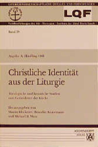 Christliche Identität aus der Liturgie - Coverbild