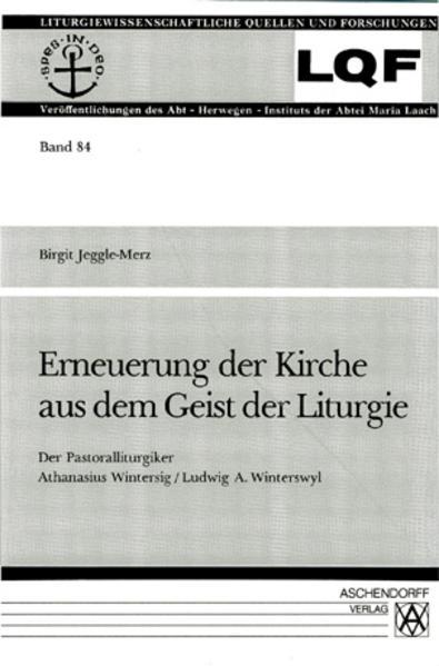 Erneuerung der Kirche aus dem Geist der Liturgie - Coverbild