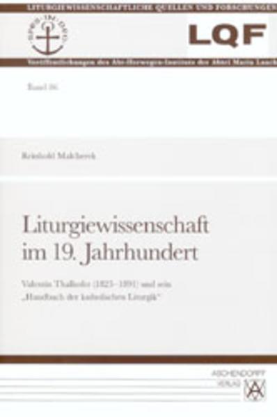 Liturgiewissenschaft im 19. Jahrhundert - Coverbild