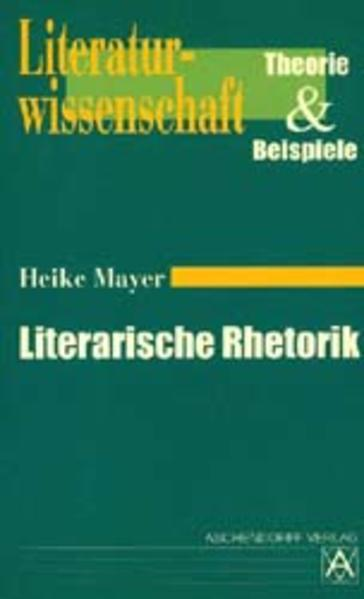 Literarische Rhetorik - Coverbild