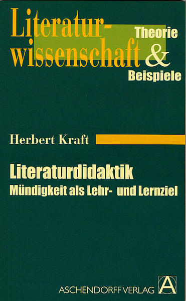 Literaturdidaktik - Coverbild