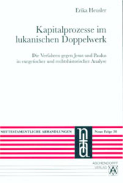 Kapitalprozesse im lukanischen Doppelwerk - Coverbild
