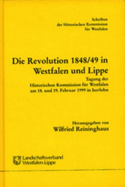 Die Revolution 1848/49 in Westfalen und Lippe - Coverbild