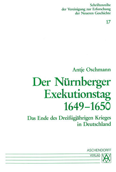 Der Nürnberger Exekutionstag 1649-1650 - Coverbild