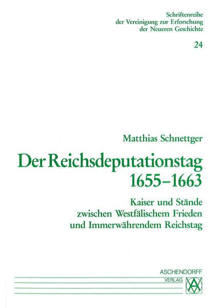 Der Reichsdeputationstag 1655-1663 - Coverbild