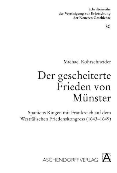 Der gescheiterte Frieden von Münster - Coverbild