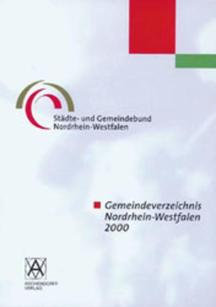 Gemeindeverzeichnis NRW 2000 - Coverbild
