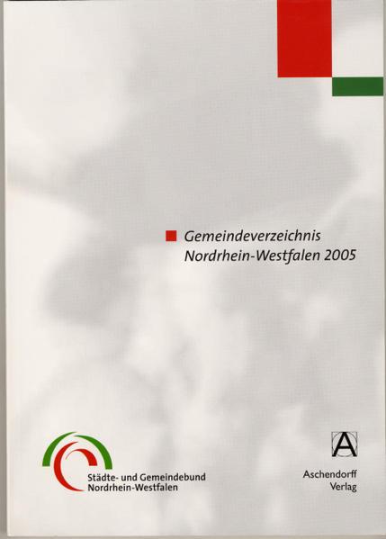 Gemeindeverzeichnis 2005 - Coverbild