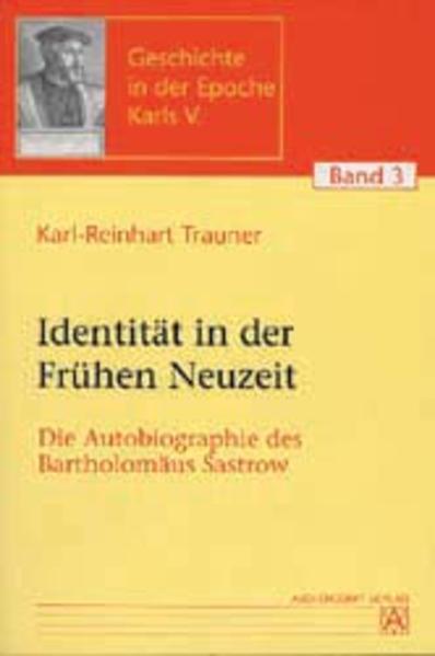 Identität in der Frühen Neuzeit - Coverbild