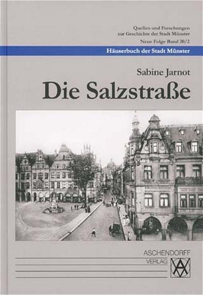 Häuserbuch der Stadt Münster / Die Salzstrasse - Coverbild