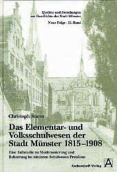 Das Elementar- und Volksschulwesen der Stadt Münster 1815-1908 - Coverbild