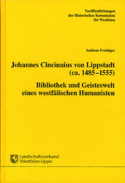 Johannes Cincinnius von Lippstadt (ca. 1485-1555) - Coverbild