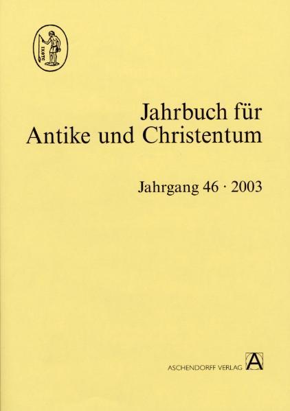 Jahrbuch für Antike und Christentum / Jahrbuch für Antike und Christentum - Coverbild