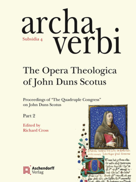 The Opera Theologica of John Duns Scotus - Coverbild