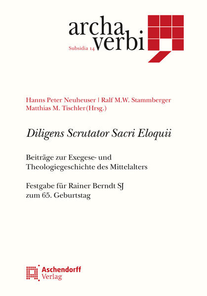Diligens Scrutator Sacri Eloquii - Coverbild